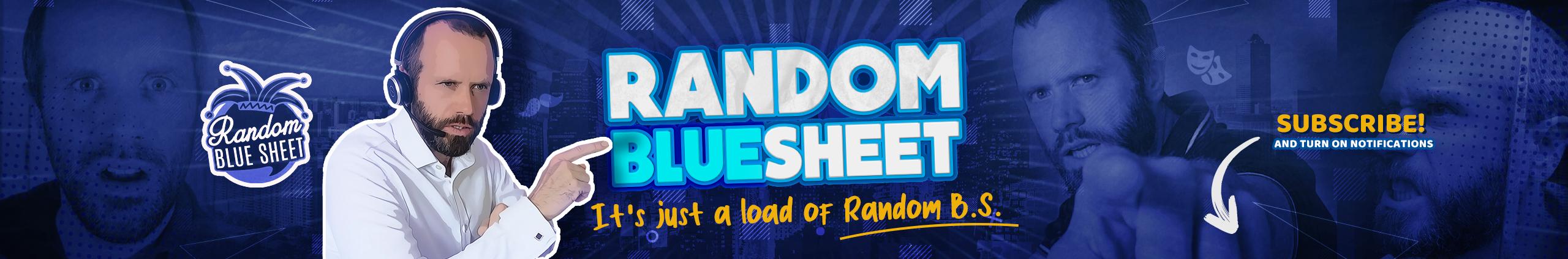 random-blue-sheet